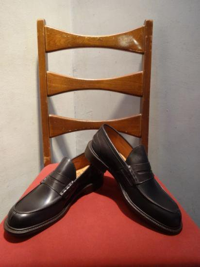 Tricker's Leather  loafer MADE IN ENGLAND Brown