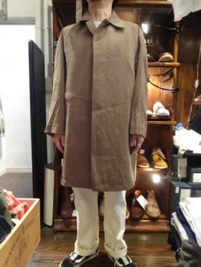 70's Vintage Royal Army Rain Coat Style sample