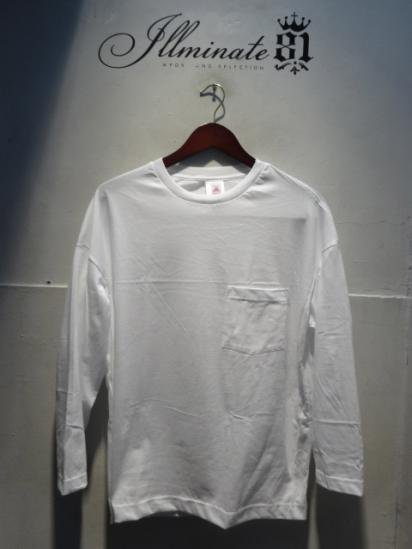 MOULIN NEUF 3/4 Sleeve Big Tee Made in France White