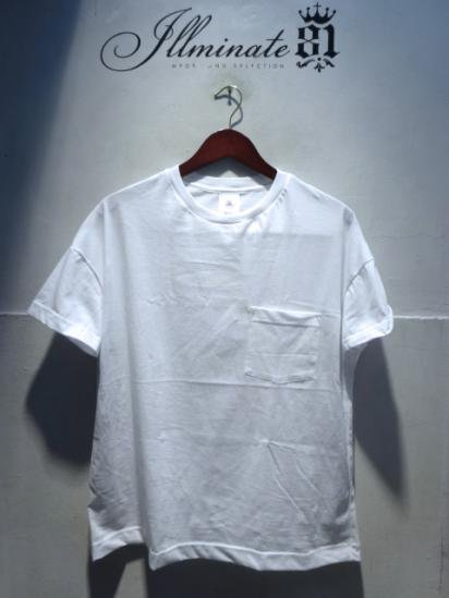 MOULIN NEUF Short Sleeve Big Tee Made in France White