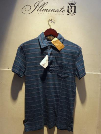 RRL Cotton Border Polo Shirts