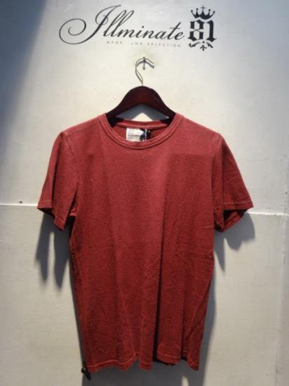 Jungmaven Baja 7oz S/S Tee Made in U.S.A Goji Red SALE ¥5,800→¥4,640