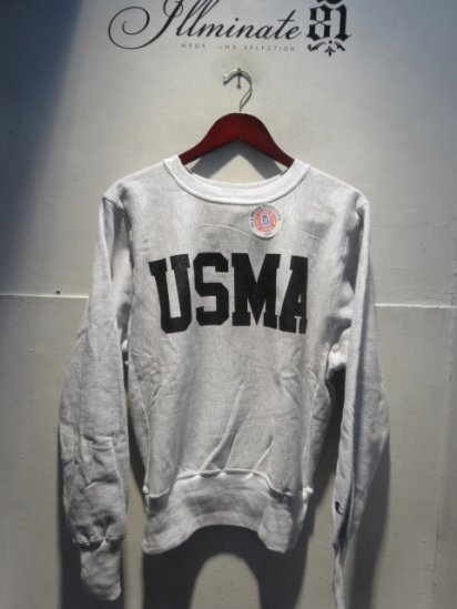 90's Champion Reverse Weave Sweat Dead stock Made in Mexico<BR> USMA