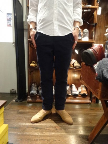 S.E.H KELLY LANCASTRIAN HEAVY TWILL PANTS MADE IN ENGLAND<BR>SALE! 43,000+Tax → 34,400+Tax