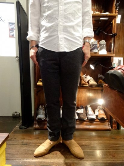 S.E.H KELLY YORKSHIRE LAMBS WOOL PANTS MADE IN ENGLAND<BR>SALE! 43,000+Tax → 34,400+Tax
