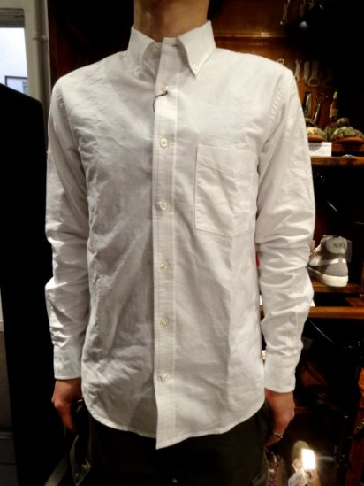 SERO Oxford L/S B.D Shirts MADE IN U.S.A  <br>White