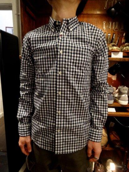 SERO Broadcloth L/S B.D Shirts MADE IN U.S.A  <br>Gingham