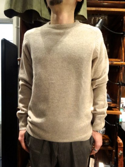 J.Crew Lambs Wool Knit Beige<BR>SALE! 7,800+Tax → 5,800+Tax