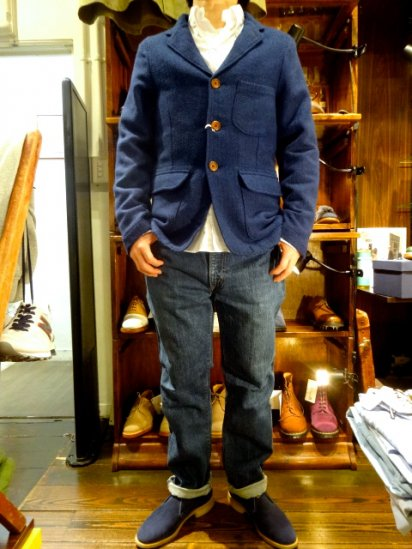 UNIVERSAL WORKS Barra jacke × Marling & evans MADE IN ENGLAND<BR>SALE! 65,000 + Tax → 39,000 + Tax