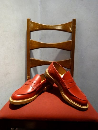 Tricker's x Comme des Garcons Homme MADE IN ENGLAND Red