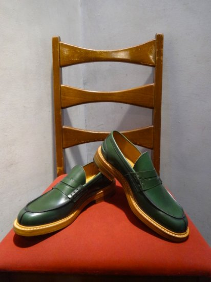 Tricker's x Comme des Garcons Homme MADE IN ENGLAND Green