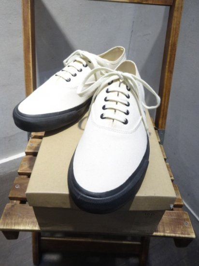 RRL New Norfolk Canvas Sneaker Greige