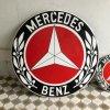 ヴィンテージ MERCEDES BENZ(メルセデスベンツ)のサインプレート/ホーロー/ドイツ/大 E6
