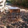アンティーク サイドテーブル/ベッドサイドテーブル/イギリス M1