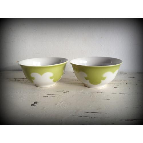 ヴィンテージ Riga Porcelain Factory カフェオレボウル/USSR(ソビエト) A9