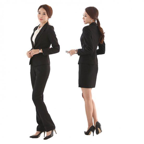 スーツ4点セット予約パンツ+スカート+...