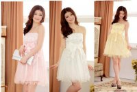 LSFS-J3118 新作 全3色 パーティー 結婚式 スパンコール入り 花模様 チュール ドレス ワンピース