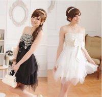 新作 大きいサイズ パーティー 結婚式 上品刺繍 ドレス ワンピース