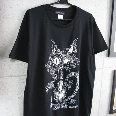 BlackCat Scratch-T-BL
