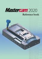 Mastercamマニュアル・参考書 2020用【オリジナルリファレンスブック】
