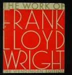 The work of Frank Lloyd Wright フランク・ロイド・ライト