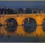 Christo: The Pont Neuf, Wrapped Paris, 1975-85 signed クリスト&ジャンヌ=クロード サイン入り