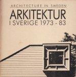 Arkitektur i Sverige Architecture in Sweden 1973-83