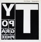 Emil Ruder: Typographie エミール・ルーダー