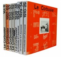 Le Corbusier: OEuvres completes en 8 volumes ル・コルビュジエ全作品集 全8巻セット