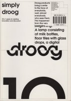 Simply droog: 10+1 years of creating innovation and discussion ドローグ・デザイン