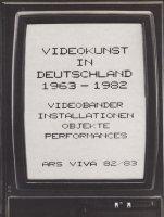 Videokunst in Deutschland 1963-1982