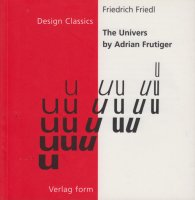 The Univers by Adrian Frutiger アドリアン・フルティガー