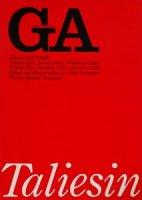 GA15 フランク・ロイド・ライト タリアセン・イースト/タリアセン・ウエスト
