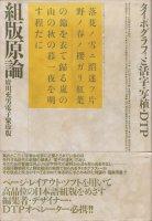 組版原論 タイポグラフィと活字・写植・DTP