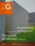 <img class='new_mark_img1' src='https://img.shop-pro.jp/img/new/icons50.gif' style='border:none;display:inline;margin:0px;padding:0px;width:auto;' />2G No.20 Portuguese architecture a new generation ポルトガルの新世代建築家