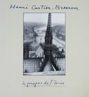 <img class='new_mark_img1' src='https://img.shop-pro.jp/img/new/icons50.gif' style='border:none;display:inline;margin:0px;padding:0px;width:auto;' />Henri Cartier-Bresson: A Propos de Paris アンリ・カルティエ=ブレッソン写真集