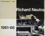 <img class='new_mark_img1' src='https://img.shop-pro.jp/img/new/icons50.gif' style='border:none;display:inline;margin:0px;padding:0px;width:auto;' />Richard Neutra 1961-66 リチャード・ノイトラ作品集