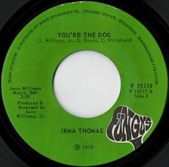 You're The Dog / She'll Never Be Your Wife