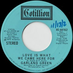 Love Is What We Came Here For (stereo) / (mono)