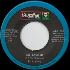 So Excited / Confessin' The Blues