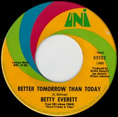 Better Tomorrow Than Today / I Can't Say No To You