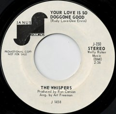 Your Love Is So Doggone Good (stereo) / (mono)
