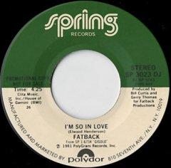 I'm So In Love / (same)