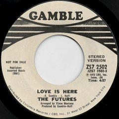 Love Is Here (stereo) / (mono)