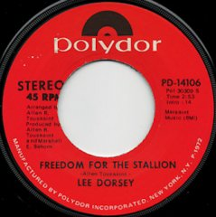 Freedom For The Stallion (stereo) / (mono)