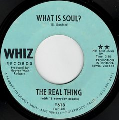 What Is Soul ? / Mr. Charlie Told Me Uncle Tom Is Dead