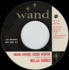 Finders Keepers, Losers Weepers / A Girl's Life