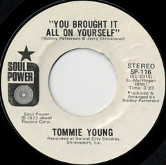 You Brought It All On Yourself (stereo) / (mono)