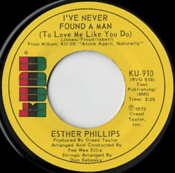 esther phillips i ve never found a man cherry red shot records
