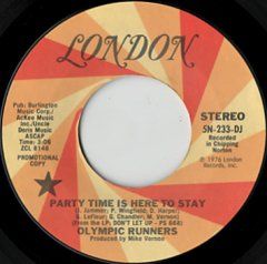 Party Time Is Here To Stay (stereo) / (mono)